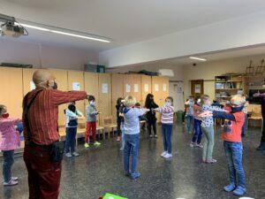 Workshop mit dem Theater Traumbaum